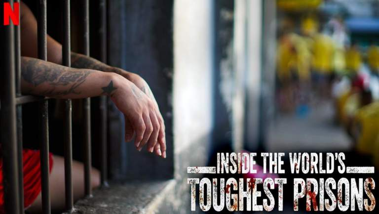 Imagen promocional de la serie de Netflix Inside the World's Toughest Prisons. © Netflix