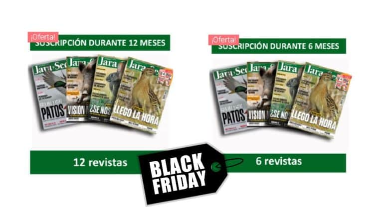 Black Friday Jara y Sedal