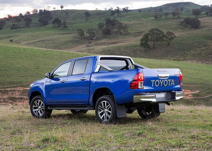 toyota-hilux pick-up para cazar