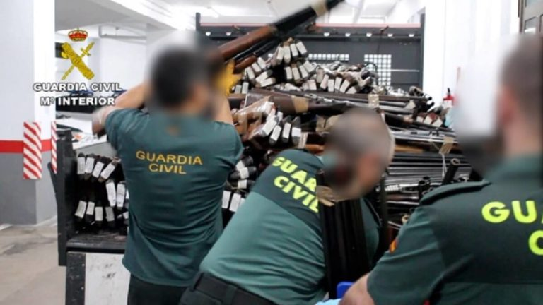guardia civil armas